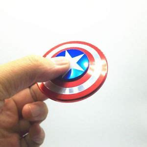 Fidget Spinner Capten America Spinner captain america shield fidget spinner edc focus