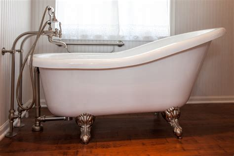 Crane Bathtubs by Traditional Master Bath With Clawfoot Tub Traditional