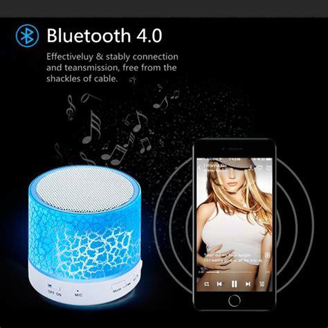 Bluetooth Speaker Mini Led Speaker Lu Warna Speaker Aktif Mini led portable mini bluetooth speakers wireless free speaker with tf usb fm mic blutooth