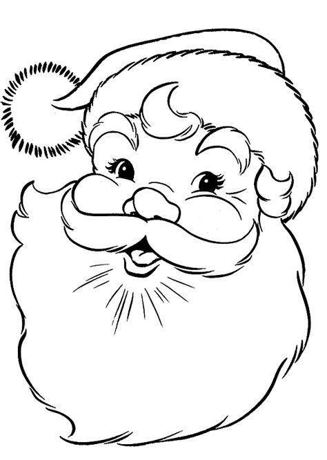 santa coloring page pdf 253 free santa coloring pages for the kids