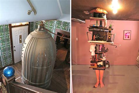 hutte royale thorsten brinkmann transforms abandoned house into artspace