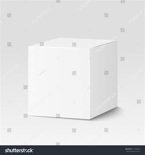 square cardboard box stock images image 29889354 white square box cardboard box container stock vector