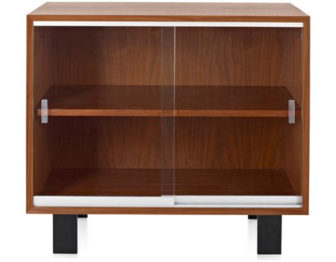 tv cabinets with glass doors nelson basic cabinet with glass sliding doors hivemodern
