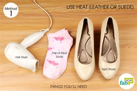Hair Dryer Boots how to stretch shoes that are tight in less than 5 minutes