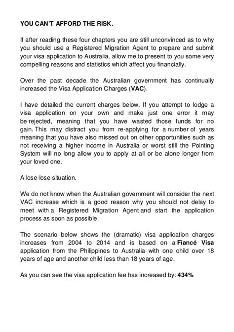 Visa Letter Confirming Relationship avoid the migration minefield safely migrate to australia from the