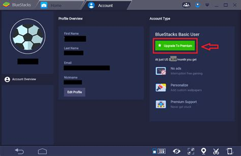 bluestacks premium how can i purchase a premium subscription plan on