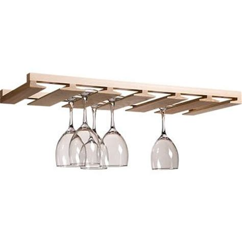 Wood Hanging Wine Glass Rack by Best 25 Wine Glass Rack Ideas On Glass Rack