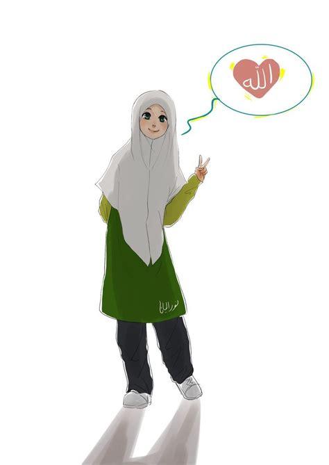 Niqab Sackura allah by yana8nurel6bdkbaik deviantart on deviantart muslim anime a