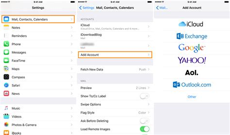 how to delete email accounts on the iphone quot cannot get mail quot errors on your iphone try this