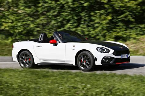 fiat abarth performance performance specifications confirmed for abarth 124 spider