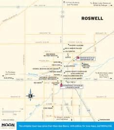 travel map of roswell new mexico