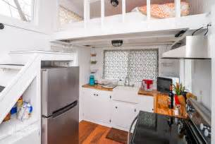 10 tiny kitchens in tiny houses that are adorably functional 10 tiny house tricks for decluttering your counters tiny