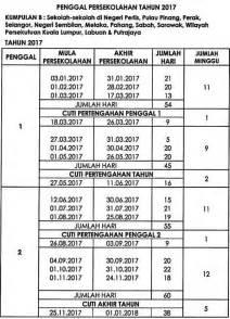 Kalendar 2018 Kpm Kalender Cuti Umum 2017 Malaysia Dan Takwim Cuti Sekolah