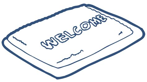 mat clipart welcome mat clip cliparts co