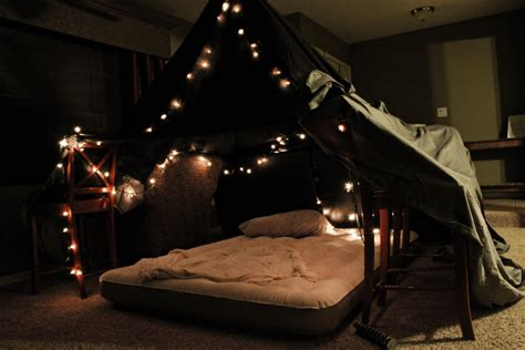 bedroom fort 12 months of dates january romantic fort night friday