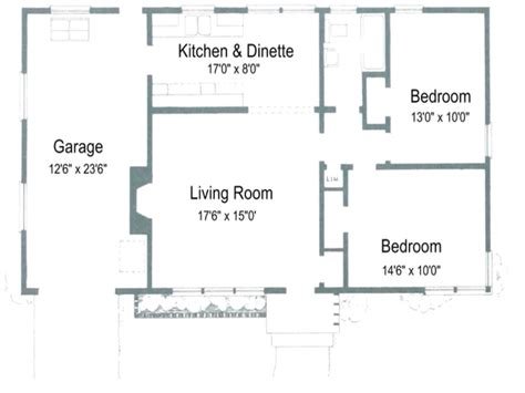 floor plan of 2 bedroom house 2 bedroom house plans with open floor plan australia