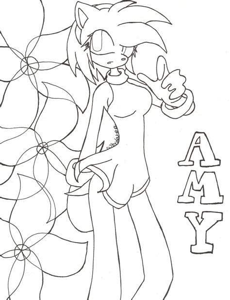 sonic kissing amy coloring pages coloring pages