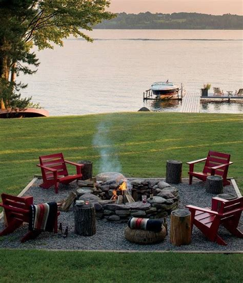 Rustic Firepit How To Be Creative With Pit Designs Backyard Diy Modern Outdoors
