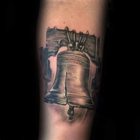 liberty bell tattoo 40 liberty bell designs for patriotic ink ideas
