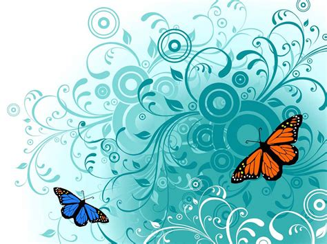 wallpaper flower graphic wallpapers butterfly vector wallpapers