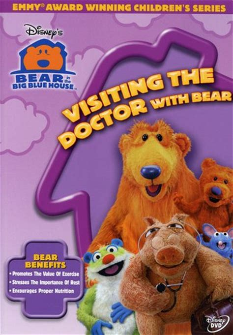 in the big blue house visiting the doctor with