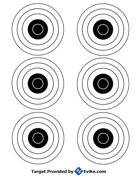 Evike Printable Targets | freebies manuals targets evike com airsoft superstore