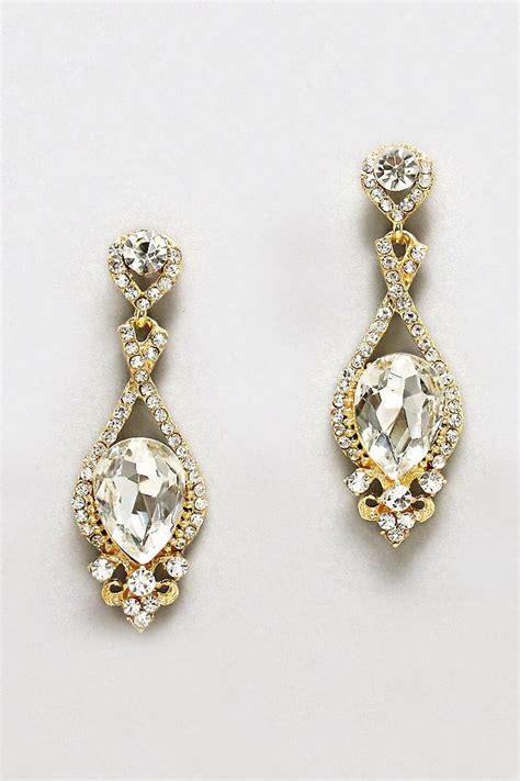 earrings shining of jewellery
