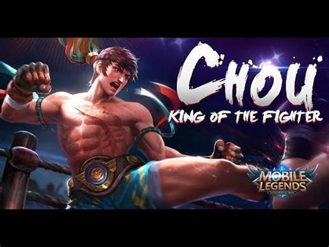 Mobile Legends Fighter Ml 008 mobile legends chou s new skin king of the fighter