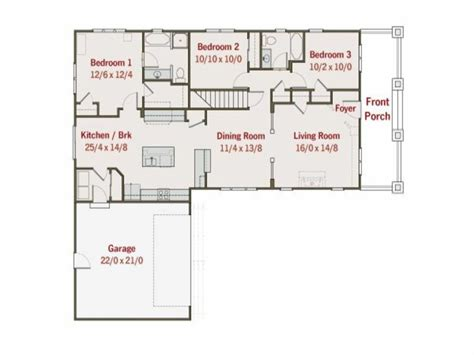 L Shaped Home Plans by L Shaped Ranch Deboto Home Design Most Popular L