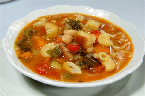 alf img showing gt minestrone soup italian style