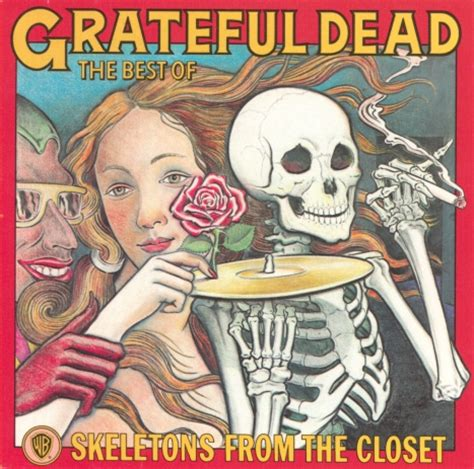 Grateful Dead Skeletons From The Closet skeletons from the closet lp front grateful dead