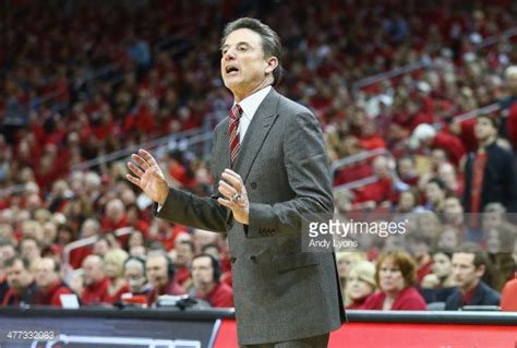 Coach L Louisville Ky by Connecticut V Louisville Getty Images