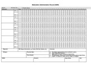medication administration record template exle medication administration record calendar