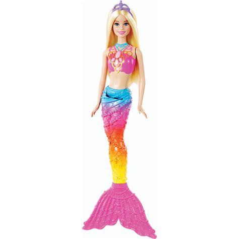 barbie rainbow lights mermaid doll barbie dreamtopia rainbow lights mermaid doll