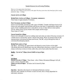 wedding itinerary template for guests wedding itinerary template 40 free word pdf documents