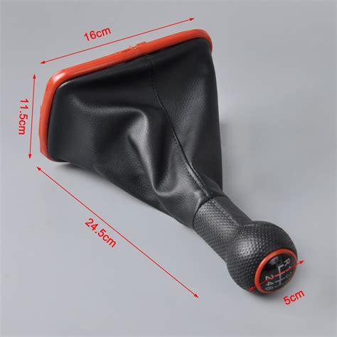 Golf Gti Gear Knob by 6 Speed Gear Shift Knob Gaitor Boot For Vw Golf Gti R32