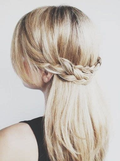 down hairstyles for graduation half up half down with braid fmag com
