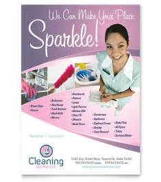 Cleaning Flyers Templates by Cleaning Service Flyer Template Images