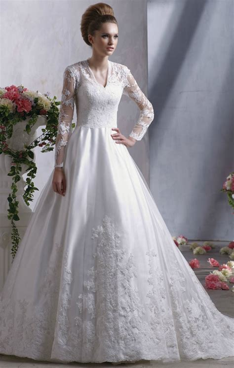 middleton inspired bridal gown sleeves anjolique