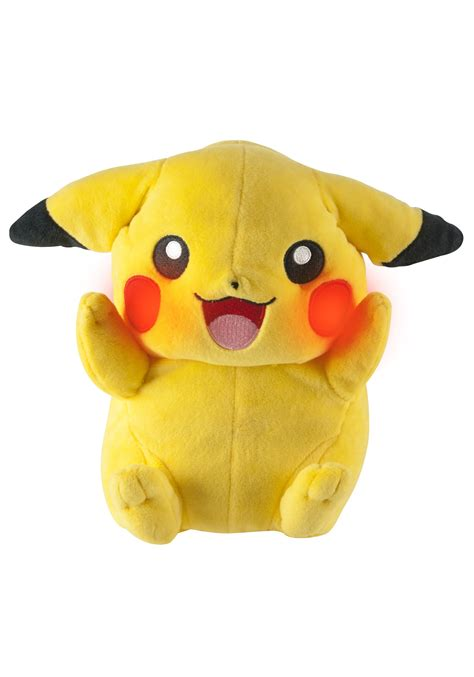 stuffed animal pikachu talking plush