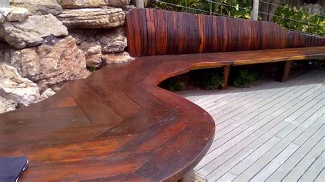 Sleeper Wood by Home Railway Sleeper Furniture From Rhodesian Teak