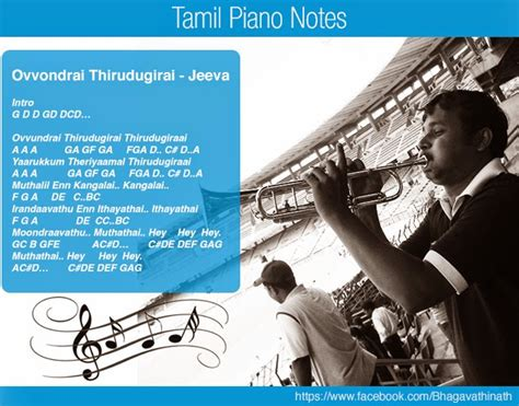 tamil theme songs keyboard notes tamil piano notes
