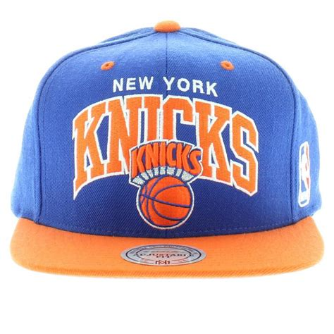 knicks colors new york knicks team colors the arch snapback mitchell and