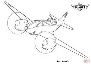 coloring pages disney planes disney planes bulldog coloring page free printable