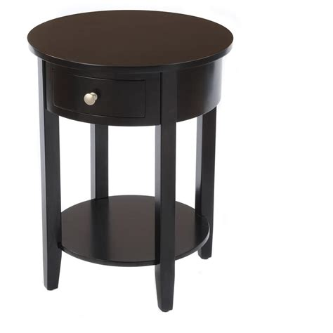 black end table with drawer side table with drawer 236468 living room at