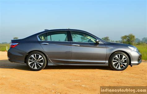 review honda accord hybrid 2017 honda accord hybrid side review indian autos