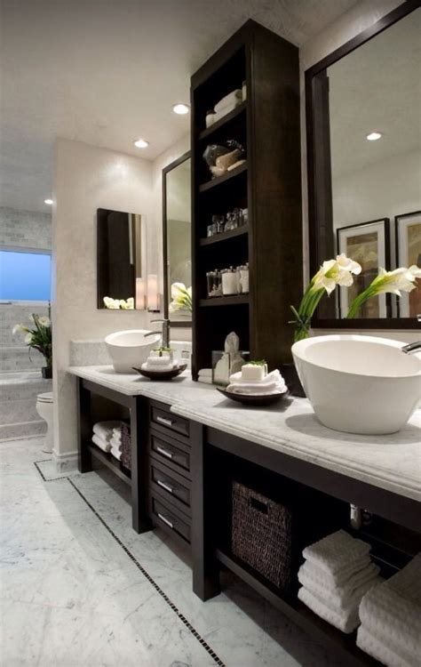 bathroom cabinets built in built in bathroom cabinets for the home pinterest