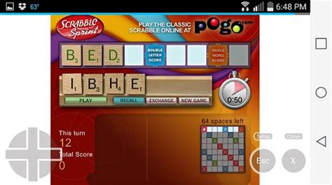 sprint scrabble can i play flash on an or android device