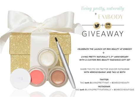 Giveaway Beauty - happy birthday to lpn rms beauty giveaway with embody boutique living pretty