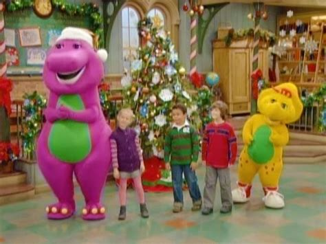 barney a very merry christmas decorating ideas